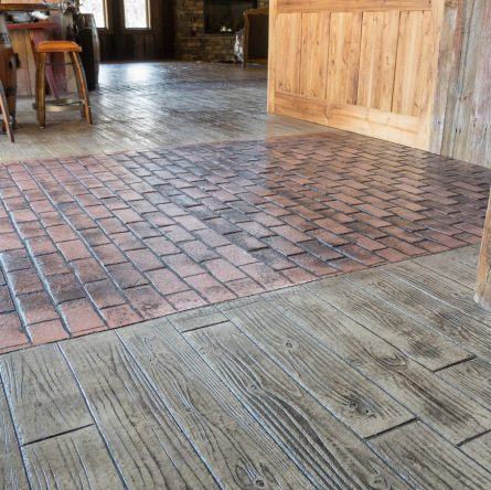 stamped concrete patterns cost
