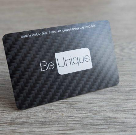 mini metal business cards